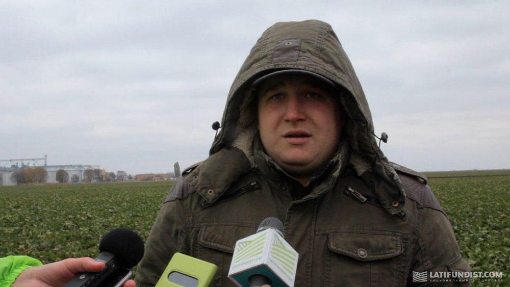 Юрий Парфенюк, ведущий агроном по защите растений и удобрениям